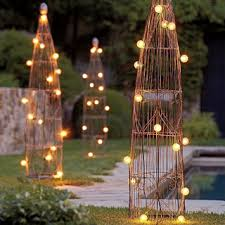 unique outdoor lighting ideas. Photo: Pottery Barn Unique Outdoor Lighting Ideas
