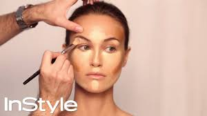 how to contour your face in 5 easy steps makeup tutorial instyle