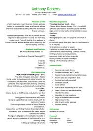 Career Advisor Resume Magnificent 48 Best Banking Sample Resume Templates WiseStep