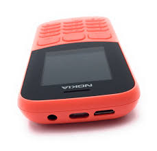 Nokia 130 Dual Sim Mobiltelefon Kamera ...