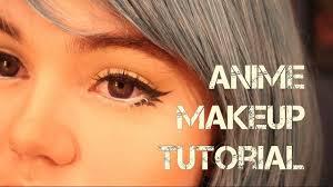 basic anime look makeup tutorial