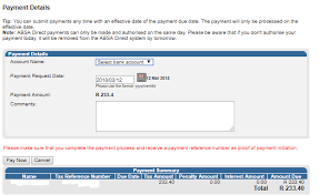 Payment Receiving Format Stunning How To Make A Payment Via EFiling TaxTim Blog SA