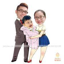 Chibi gia đình nhỏ