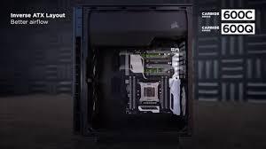 carbide series® clear 600c inverse atx full tower case