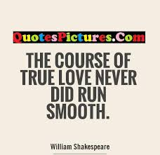 "love never did run smooth essay ""the course of true love never did run smooth wikispaces"