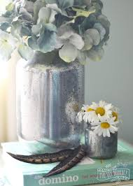 how to make faux mercury glass vases from recycled jars this method doesn t