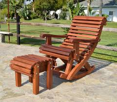 ensenada rocking chair options standard width old growth redwood no cushion