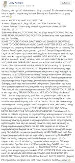 Pastillas Girl S Wild Side Open Letter To Angelica Yap Spreads