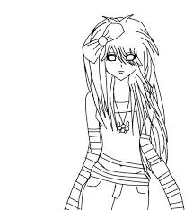 50 Anime Coloring Pages For Girls Anime Color Pages Coloring Home