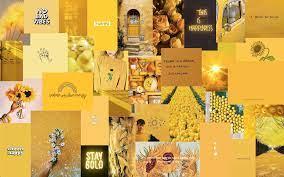 Yellow Aesthetic Laptop Wallpaper ...