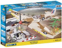 <b>Конструктор Cobi Supermarine Spitfire</b> Mk.IX Maintenance Hangar ...