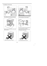 lg commercial washing machine user manual installation of drain