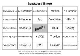 buzzword bingo generator fun project buzzword bingo card generator