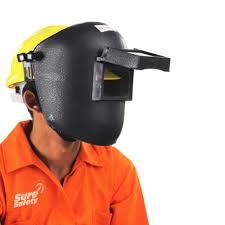Welding Face Shield For Tough Hat Helmet Safety Helmet Head