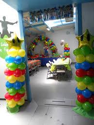 Mario Brothers Aquarium Decorations Decoracin Con Globos Super Mario Bros Globos Pinterest