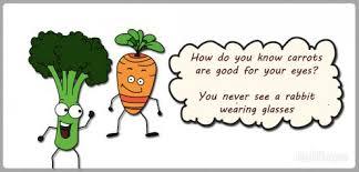 veggies tell a clean joke