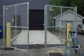 chain link fence gate latch style
