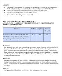 Sample Staff Evaluation Classy 44 Performance Report Examples PDF DOC
