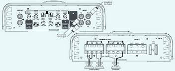 infinity 475a. infinity ref-475a - 4,3,2 channel power amplifier connection diagram infinity 475a