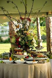 awesome round table lunch buffet outdoor buffet ideas
