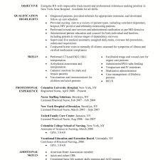 Sample Cover Letter Rn New Grad Nurse Example Application For Inside ...