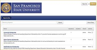 san francisco state university admissions essay