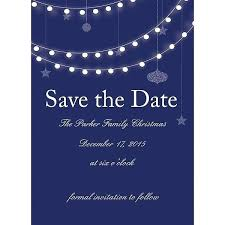 Christmas Wedding Save The Date Cards 5 X 7 Holiday Lights Party Save The Date Cards Wedding Christmas