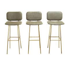 the brass petra bar stool by thomas hayes studio at stdibs