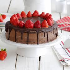 Chocolate Strawberry Layer Cake Recipes Koshercom