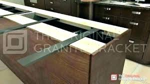 image of overhang support fogy incomparable kitchen