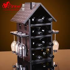 get ations sheng dimensional z shine european business wine cabinet wood wine rack wine rack hanging stemware