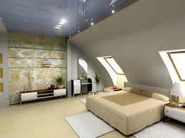 Bett Platzieren Dachschräge Im Schlafzimmer Große Von Dachschrage