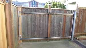 14 Custom Cedar Driveway Swing Gate Youtube