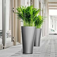 office plant pots. ecogreenofficeplantspotsconesdeltaone office plant pots