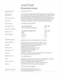 Medical Receptionist Resume Sample From Medical Secretary Resume