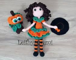 Amigurumi <b>Pumpkin Witch</b> Doll for <b>Halloween</b> - English <b>Pattern</b> ...