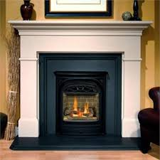 Valor Portrait Gas Fireplace With President Front 530 Engine With Valor Fireplace Inserts