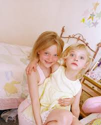 Sooo this is what I looked like as a child. Dakota Fanning with.