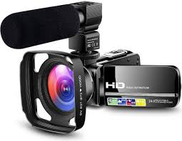 Great for Beginners Camcorder Video Camera 1080P Vlogging YouTube Live  streaming
