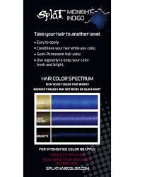Products In 2019 Indigo Hair Splat Midnight Hair Color