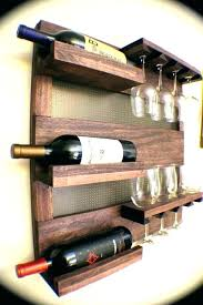 wine glass holder rack amazing decoration for wall decorative racks mounted inside 14