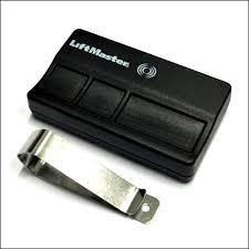 how to replace battery in liftmaster garage door opener remote