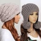 Связанная шапка на зиму