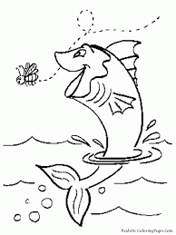 Small Picture Jumping Fish Coloring Pages Coloring Pages