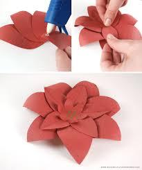 Christmas Paper Flower Wreath Diy Crafts Festive Seed Paper Flower Wreath Blog Botanical