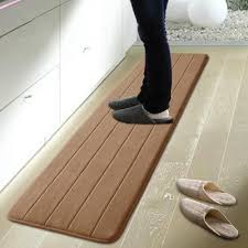 Washable kitchen rugs Country Kitchen 50120cm Memory Foam Washable Kitchen Rugs Waterproof Floor Rugs Sale Bath Mat For Living Room Carpet Samples Online Nylon Carpet Prices From Jonemark2013 Dhgate 50120cm Memory Foam Washable Kitchen Rugs Waterproof Floor Rugs