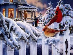 74+] Christmas Scenes Wallpaper Free on ...
