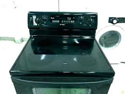 glass top stove burner replacement range stoves best maytag gemini not working
