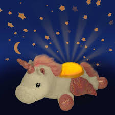 Unicorn Night Light Projector Cloud B Twilight Buddies Winged Unicorn Plush Nightlight Projector