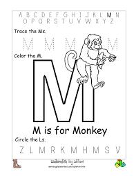 free printable alphabet letter m worksheets_84849 letter m worksheet for preschool termolak on motion worksheet